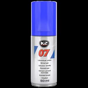 Мултифункционален препарат смазка К2 07 спрей