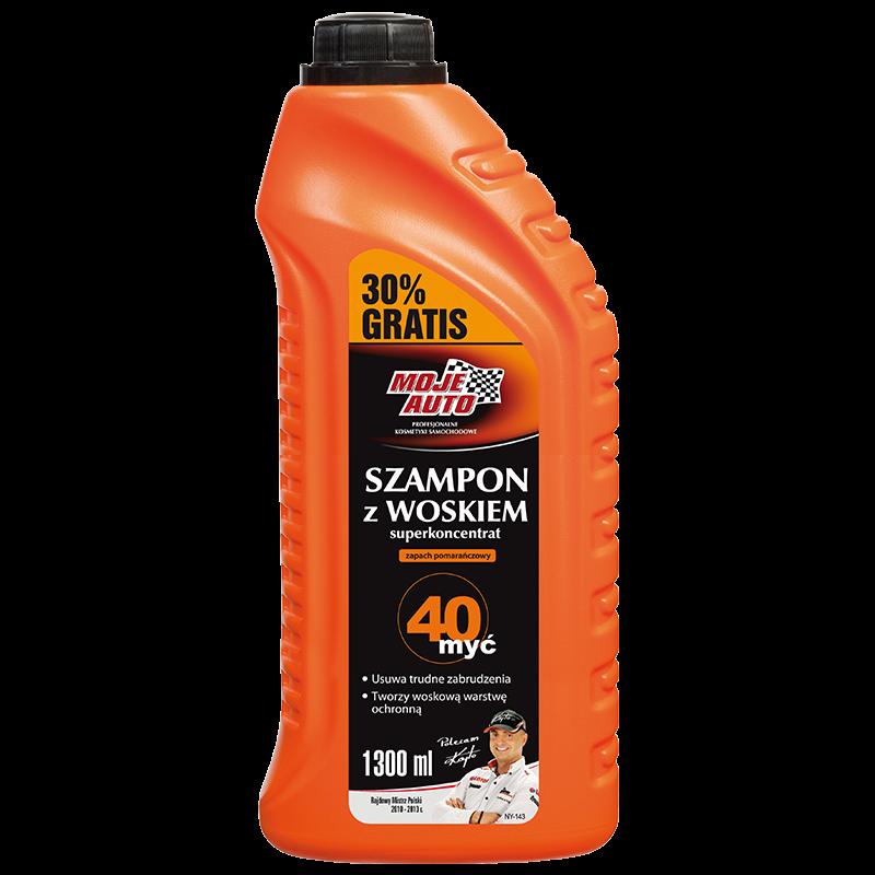 19-027 Shampoo & wax concentrate Moje Auto шампоан за измиване и вакса - концентрат