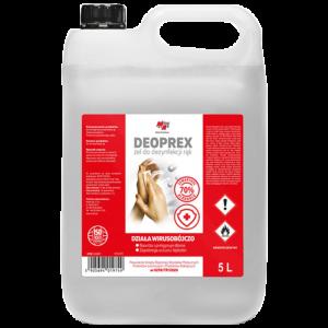 Дезинфектант за ръце гел 70% алкохол DEOPREX MA Professional