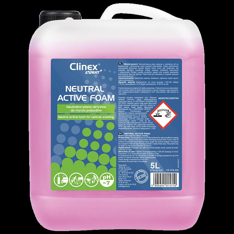 40-005 Neutral active foam Clinex Expert неутрална активна пяна за миене