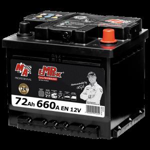 Акумулаторна батерия EMPEX 72Ah/660A/LB3 MAE 572R