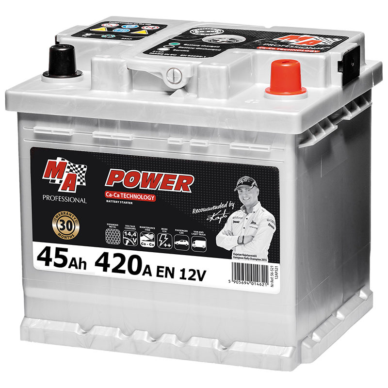 56-512 Car Battery MA POWER MAP 45Ah 420A акумулаторна батерия