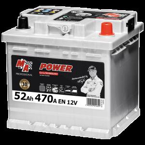 Акумулаторна батерия POWER MAP 52Ah/470A/L1 552R