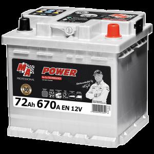 Акумулаторна батерия POWER MAP 72Ah/670A/LB3 572R