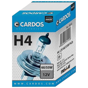 K2 автомобилна крушка H4 60/55W P43t 12V Cardos