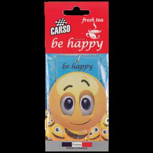 Ароматизатор висящ емотикон BE HAPPY K2 CARSO
