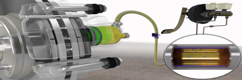 Check & change break fluid смяна на спирачната течност
