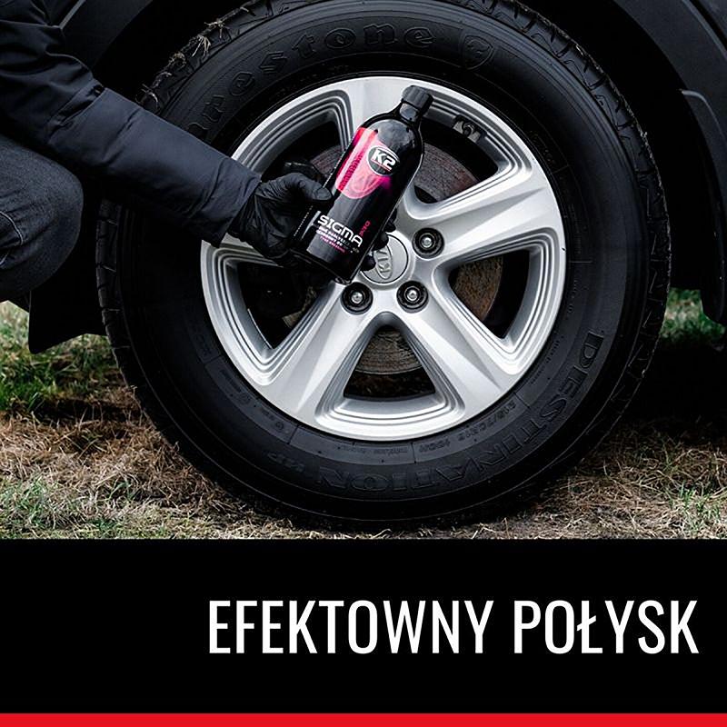D11011 K2 SIGMA PRO gel dressing for tyre 1L полиращ защитен гел за гуми