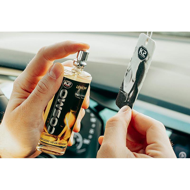 K2 COSMO Air Freshenner spray Lemon 50ml ароматизатор спрей Лимон