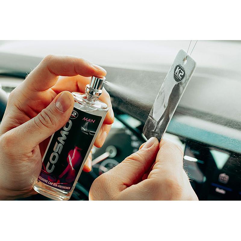 K2 COSMO Air Freshenner spray Man 50ml blister ароматизатор спрей Мъж