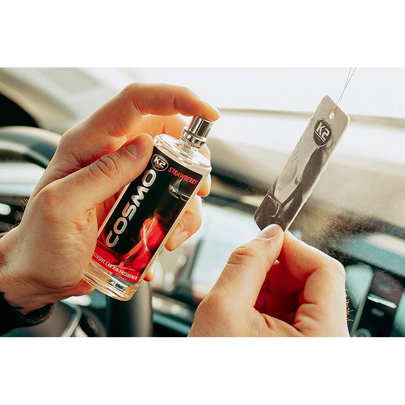 K2 COSMO Air Freshenner spray Strawberry 50ml ароматизатор спрей Ягода