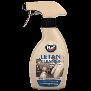Почистване тапицерия кожа K2 LETAN CLEANER