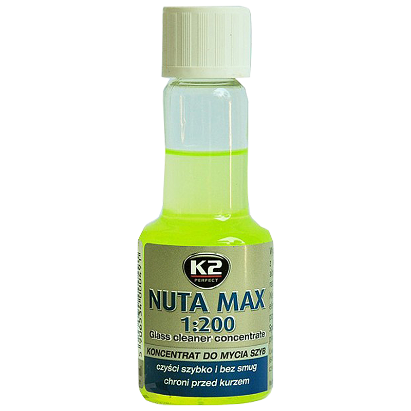 K509 K2 NUTA MAX KONC 1:100 1:200 Glass Cleaner concentrate 50ml лятна течност за чистачки концентрат