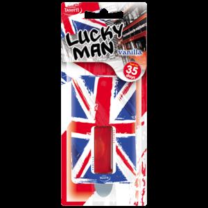 Ароматизатор Lucky Man English картонче висящ Tasotti