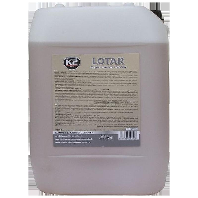 M281 K2 LOTAR Carpet & fabric cleaner low foaming product 20L препарат пяна за почистване пране тапицерии килими стелки
