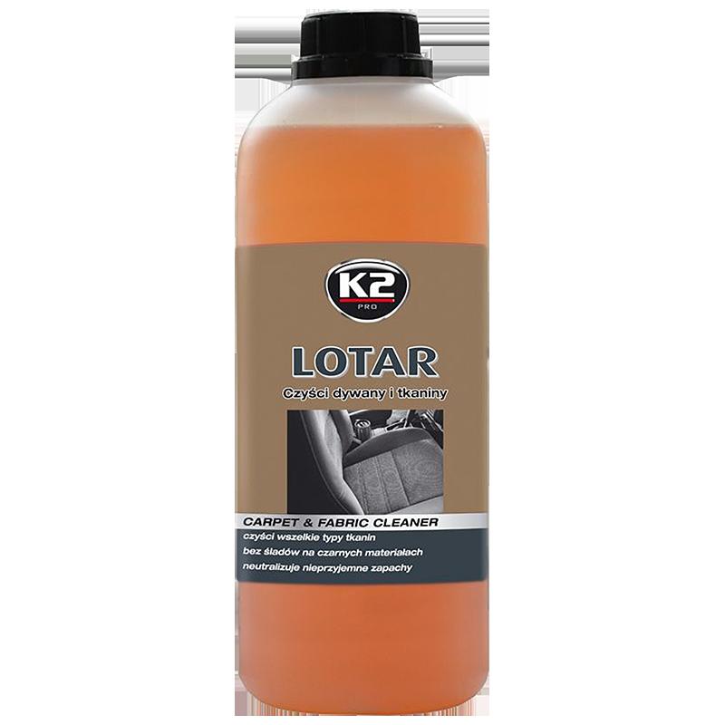 M880 K2 LOTAR Carpet & fabric cleaner low foaming product 1L препарат пяна за почистване пране тапицерии килими стелки