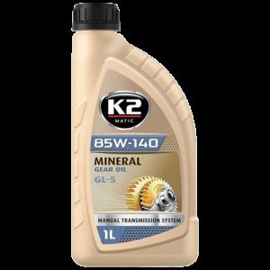 K2 MATIC 85W-140 трансмисионно масло GL-5 GL-4