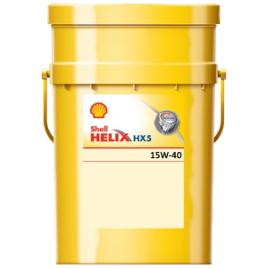 Shell Helix HX5 15W-40 масло моторно