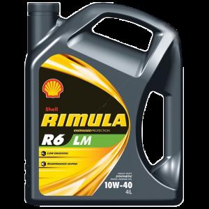 Shell Rimula R6 LM 10W-40 масло моторно