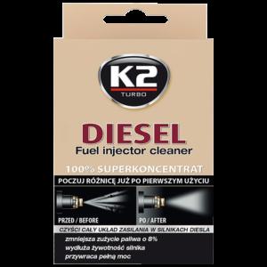 Почистване инжектори дизел – добавка за гориво К2 Turbo