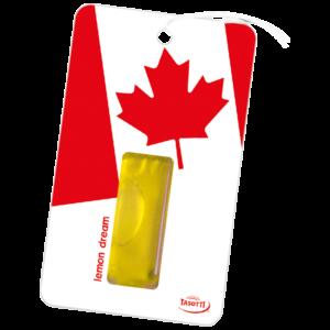 Ароматизатор Lucky Man Canada картонче висящ Tasotti