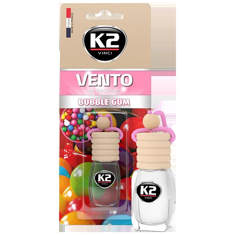 V449 K2 VENTO Air Freshenner Bubble Gum 8ml ароматизатор Vento Vinci Дъвка бутилка