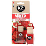 V450 K2 VENTO Air Freshenner Strawberry 8ml ароматизатор Vento Vinci Ягода бутилка