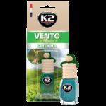 V452 K2 VENTO Air Freshenner Green Tea 8ml ароматизатор Vento Vinci Зелен чай бутилка
