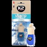 V453 K2 VENTO Air Freshenner Fresh 8ml ароматизатор Vento Vinci Свежест бутилка