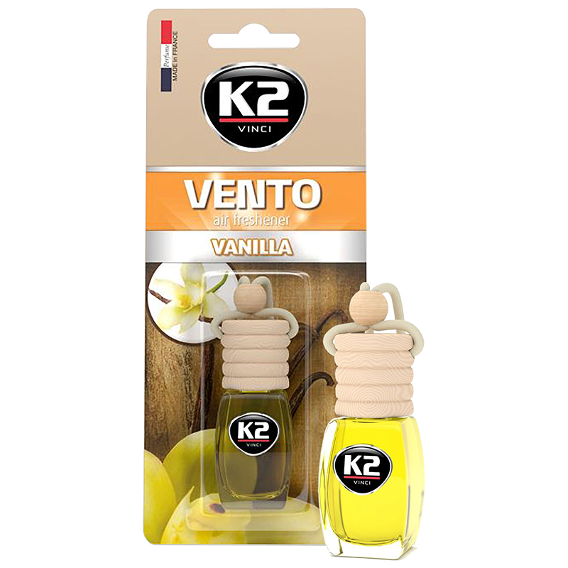 V457 K2 VENTO Air Freshenner Vanilla 8ml ароматизатор Vento Vinci Ванилия бутилка