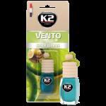 V465 K2 VENTO Air Freshenner Spicy Citrus 8ml ароматизатор Vento Vinci Пикантен цитрус бутилка