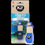V468 K2 VENTO Air Freshenner Paradise 8ml ароматизатор Vento Vinci Рай бутилка