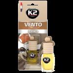V469 K2 VENTO Air Freshenner Leather 8ml ароматизатор Vento Vinci Кожа бутилка