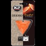 V88GRA K2 DIAMO Air Freshenner Grapefruit 15g ароматизатор скъпоценен камък кристали висящ вентилационна решетка Грейпфрут