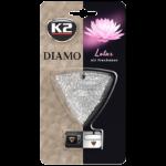 V88LOT K2 DIAMO Air Freshenner Lotus 15g ароматизатор скъпоценен камък кристали висящ вентилационна решетка Лотус