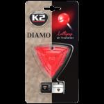 V88SCA K2 DIAMO Air Freshenner Lollipop 15g ароматизатор скъпоценен камък кристали висящ вентилационна решетка Близалка