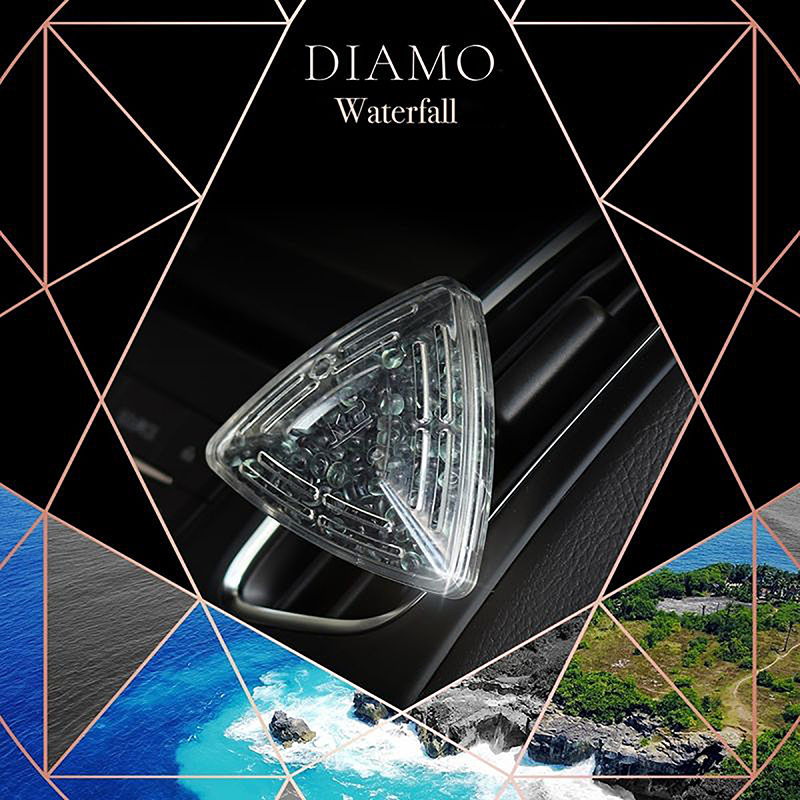 V88WOD K2 DIAMO Air Freshenner Waterfall 15g ароматизатор скъпоценен камък кристали висящ вентилационна решетка Водопад