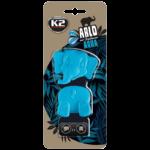 V89WOD K2 ARLO Air Freshenner Aqua 15g цветно слонче 2 части ароматизатор вентилационна решетка Аква