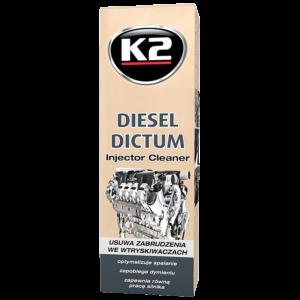 Добавка почистване инжектори дизел Dictum K2 Turbo